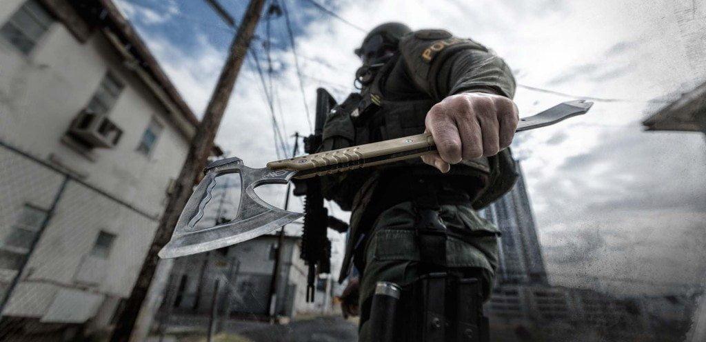 Тактический томагавк, или армейский боевой топор - выбор профессионалов?