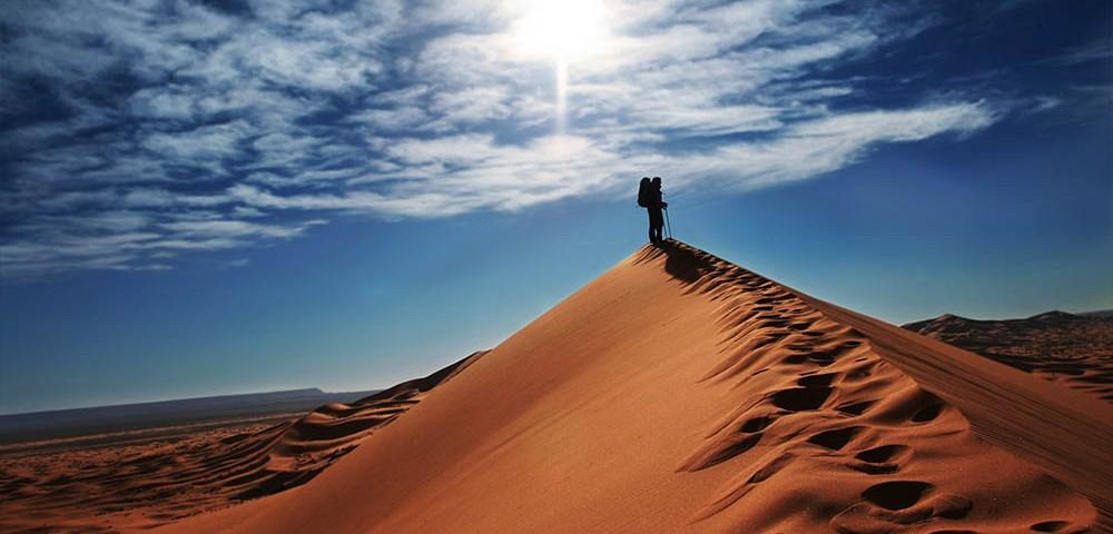 Пустыня - как выжить без воды и под палящим солнцем?