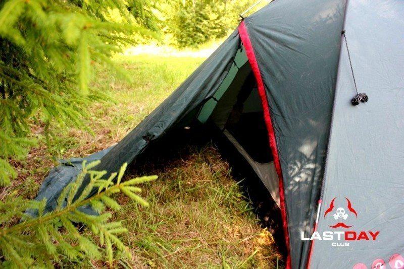 Обзор палатки Husky Falcon - после 8 лет эксплуатации!