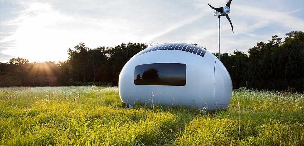 Ecocapsule - комфортабельное автономное жилье
