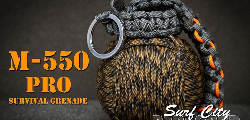 M-550 - граната для выживания из паракорда