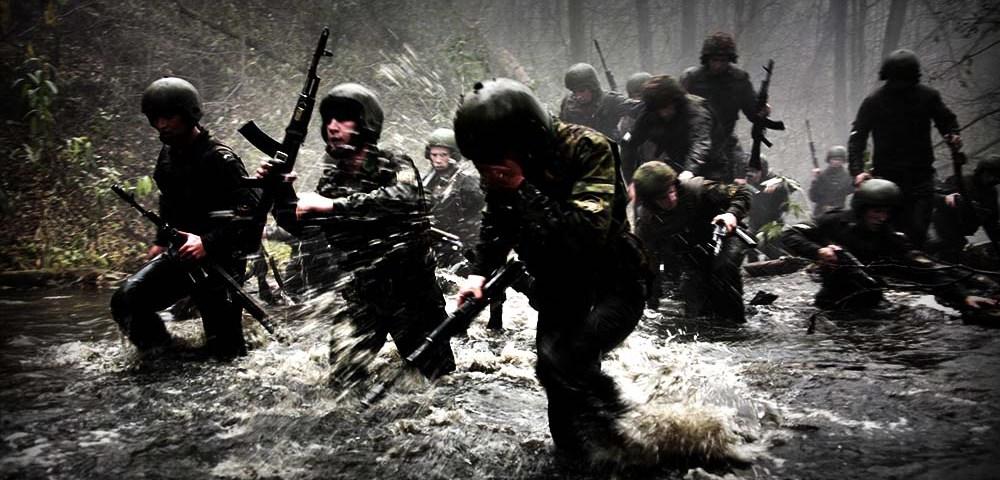 Психофизическая тренировка бойцов спецназа