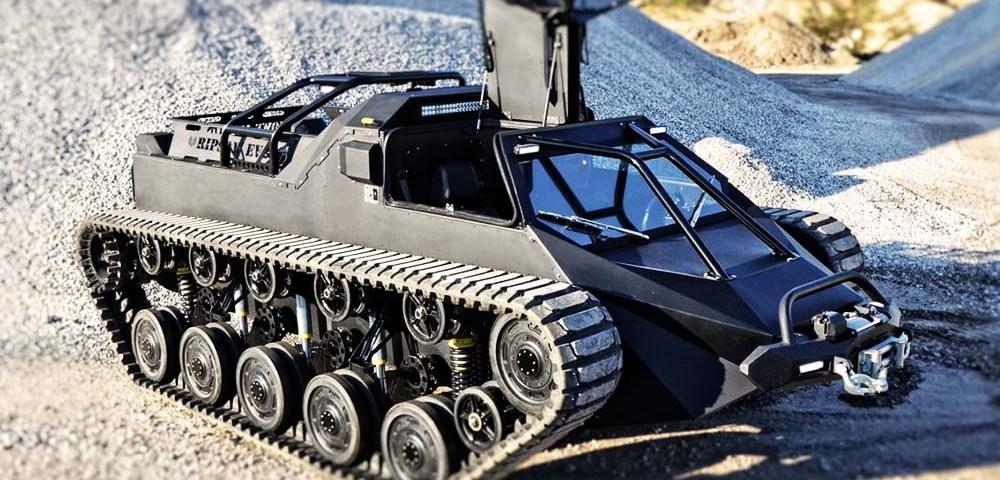 Ripsaw EV2 - гражданский танк, собираемый по предварительному заказу