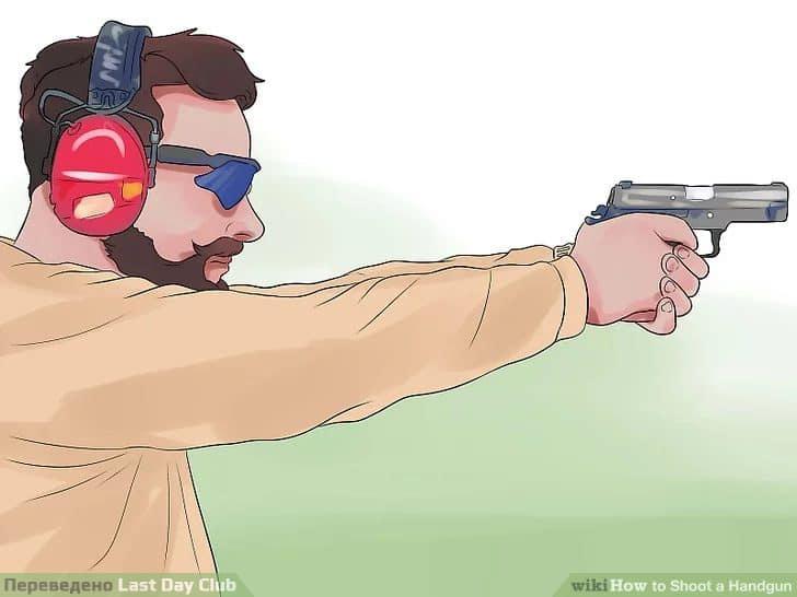 Используйте снаряжение для защиты глаз и ушей