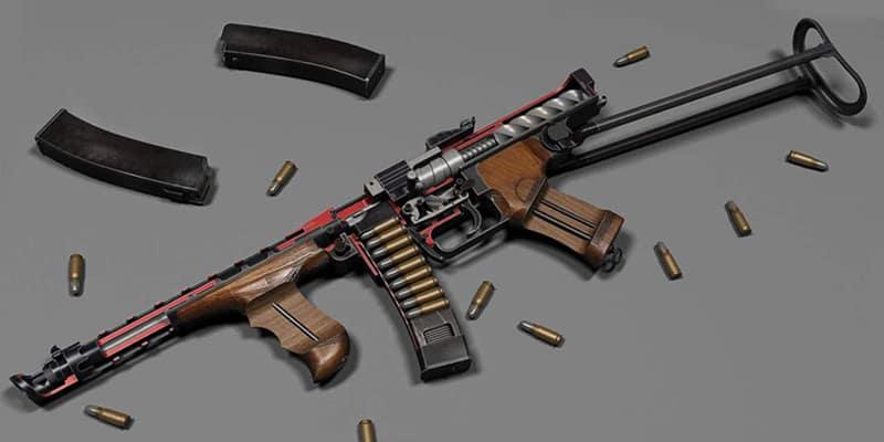 Пистолет-пулемёт Калашникова 1942 (фото: VladRussianArms)