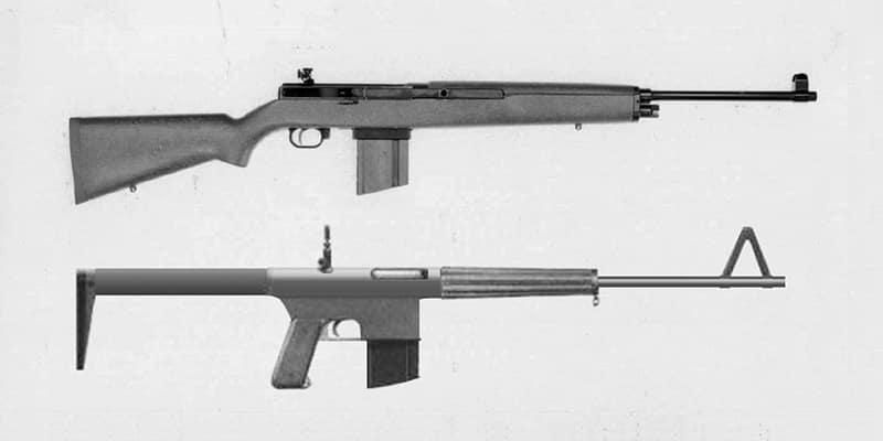 «Гаражное творчество» Стоунера — облегчённый «Гаранд» М1 и первый прототип автоматической винтовки.
