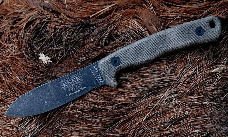 ESEE Ashley Game Knife Micarta