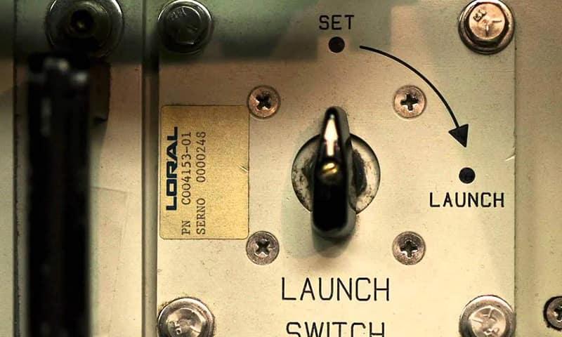Пульт запуска Minuteman III
