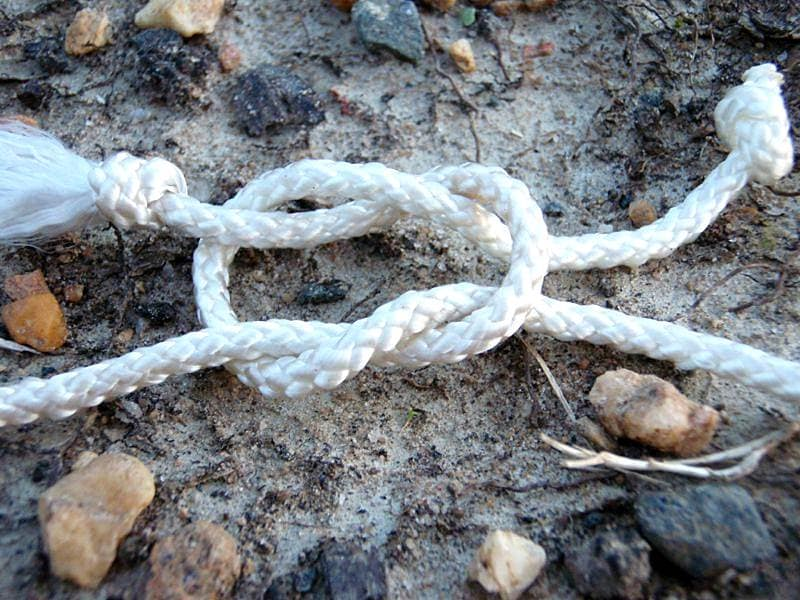 Прямой узел (Square Knot)