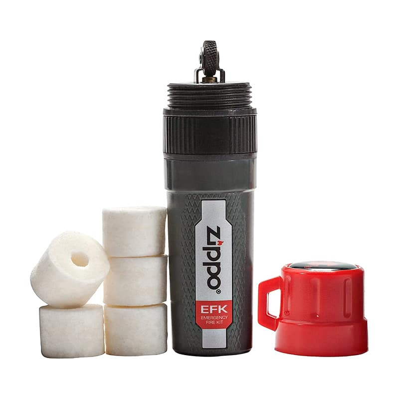 Набор для добывания огня Zippo Emergency Fire Kit