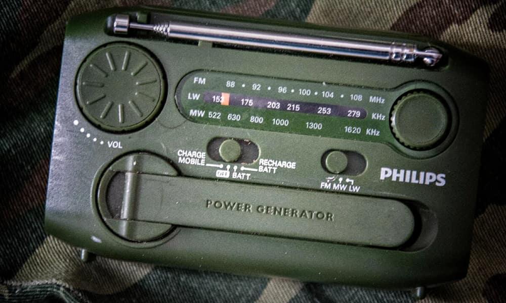 Радиоприёмник выживальщика Philips AE 112512