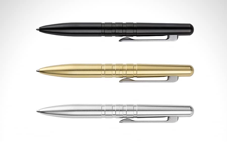 """Machine Era Field Pen - Лучшие """"bolt action"""" тактические ручки для EDC"""