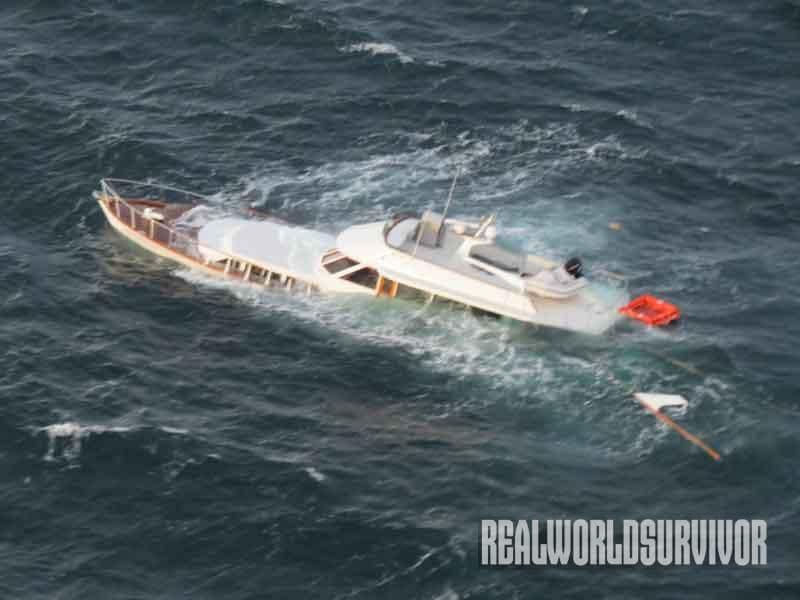 20 советов, как выжить при кораблекрушении и опрокидывании судна