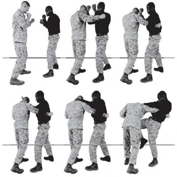 Рис. 4-5. Противодействие боковому удару.