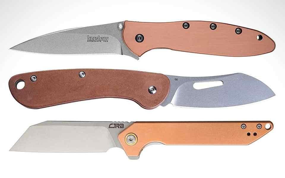 Лучшие EDC-ножи с медными рукоятками - Топ-10 моделей за 2020 год - Last Day Club