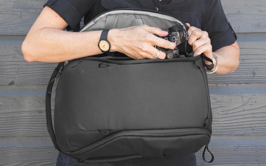 Peak Design Everyday Backpack Zip Camera Bag - Лучшие повседневные рюкзаки и EDC-сумки для фотоаппарата 2020