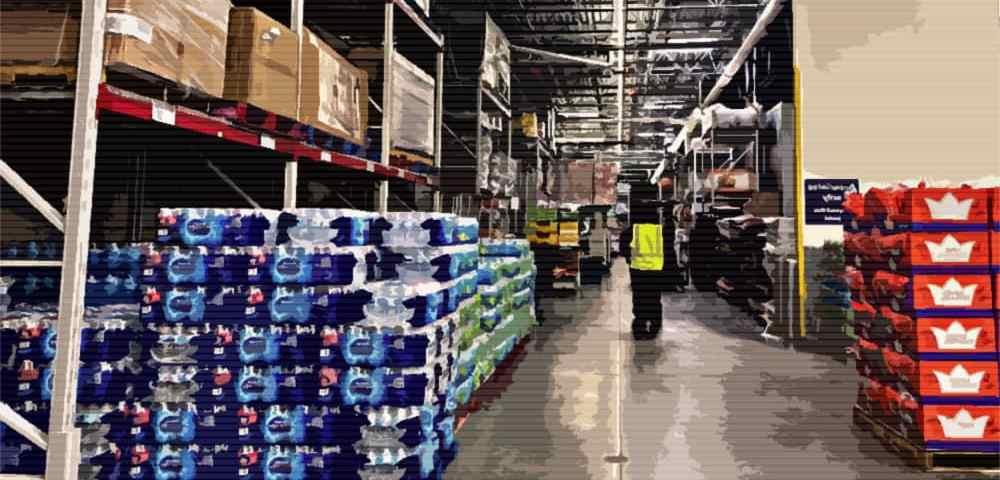 Запас еды и воды для выживания семьи в течение 1 года