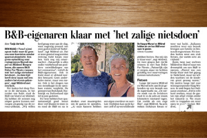 De Telegraaf 'Dolce far Niente'