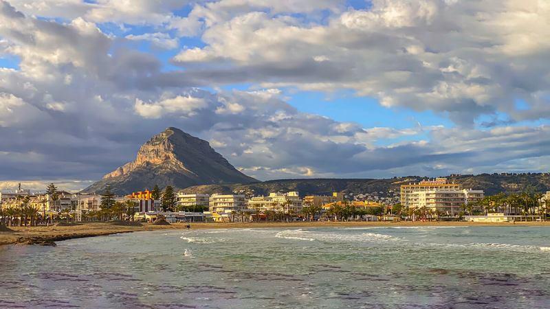 Arenal, mooiste stranden van Javea, Alicante, Costa Blanca