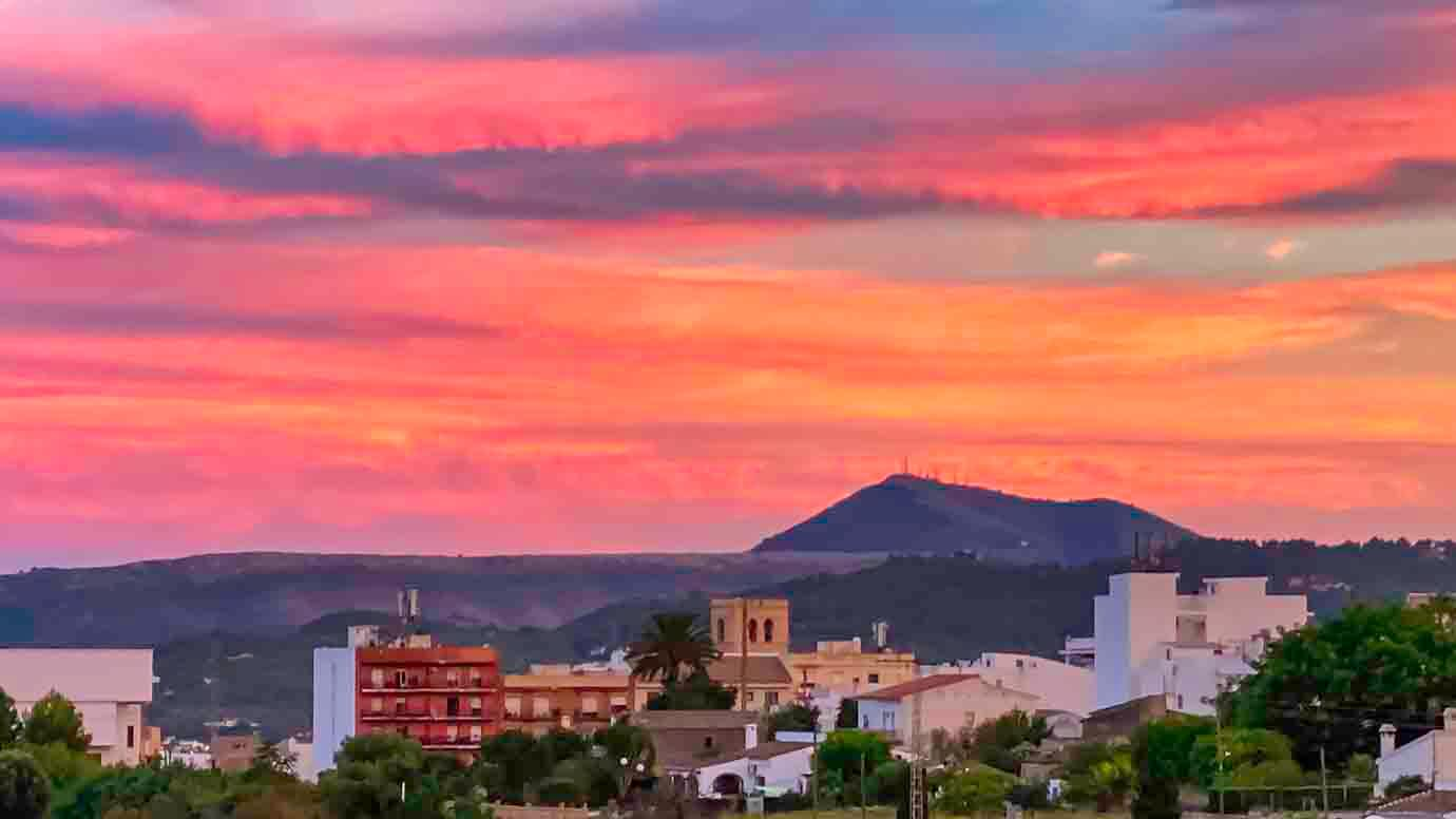 Bed and Breakfast, Costa Blanca, uitzicht