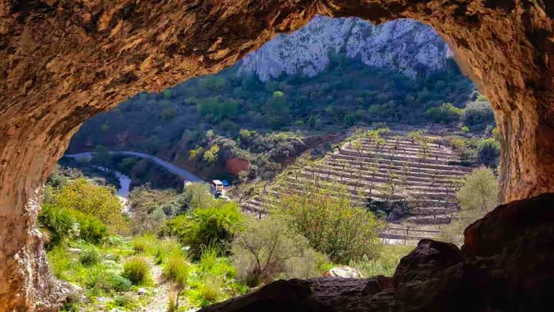 Costa Blanca, Denia, groen natuurgebied, wandelen, fietsen