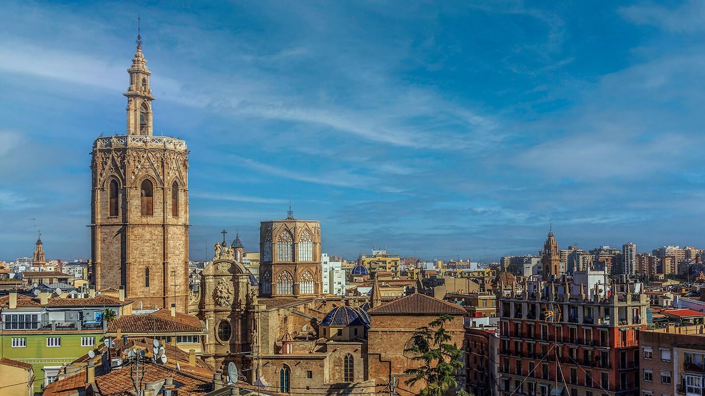 Catedral Y Rl Miguelete Valencia, Spanje