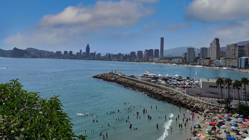 Costa Blanca, Benidorm, B&B, Hotels, appartementen
