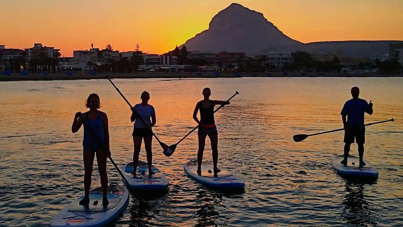 Padle en surf in Javea voor beginners