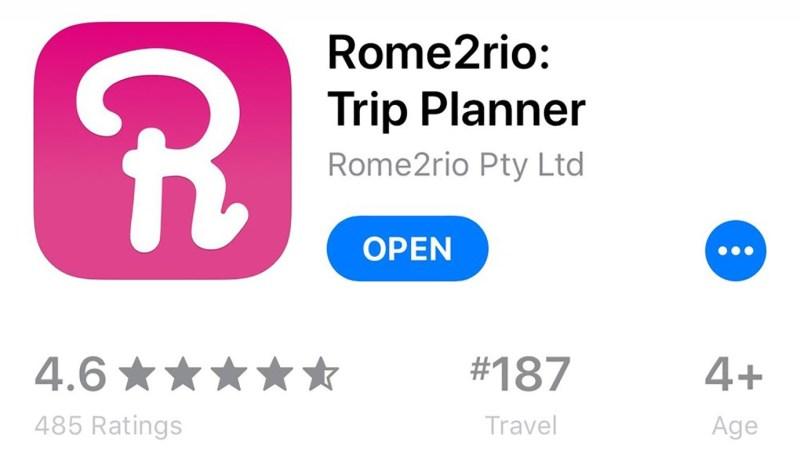Rome2Rio, onmisbare app op vakantie