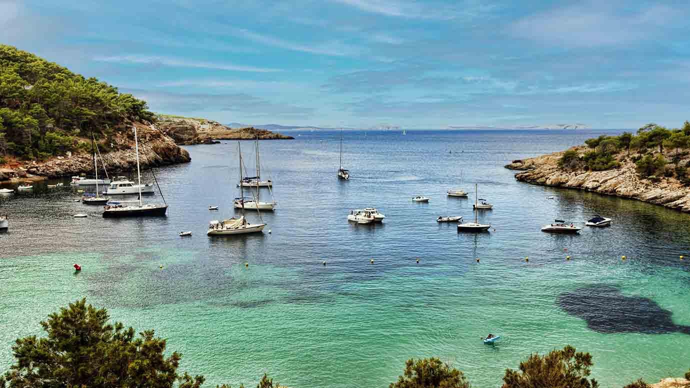 Noorden van Ibiza