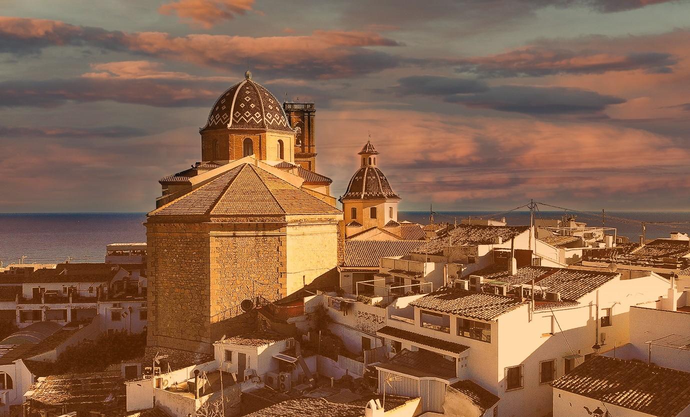 """Altea kerk van """"El Consuelo"""""""