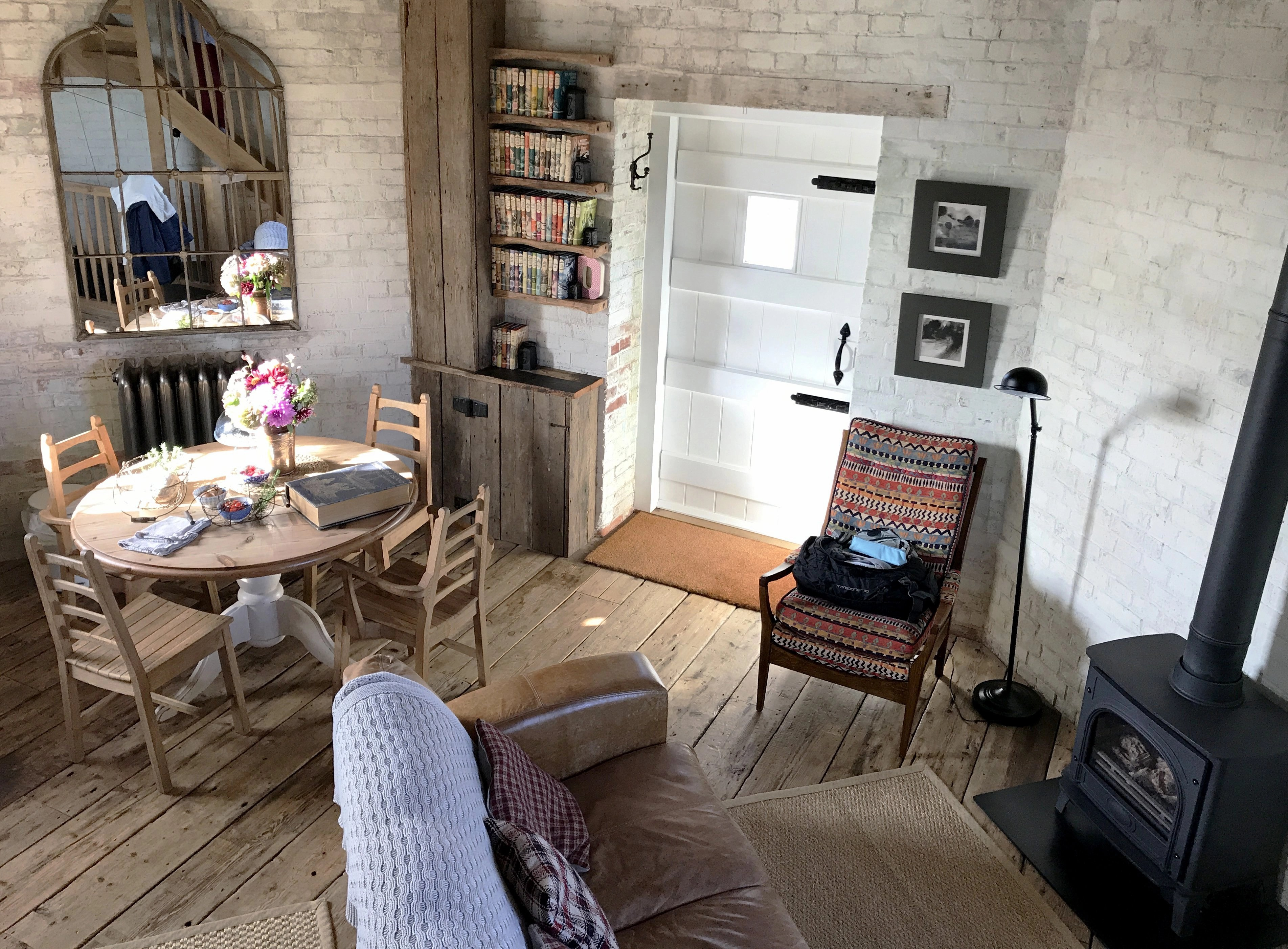 Stunning Airbnb home in a renovated windmill, rural Kent