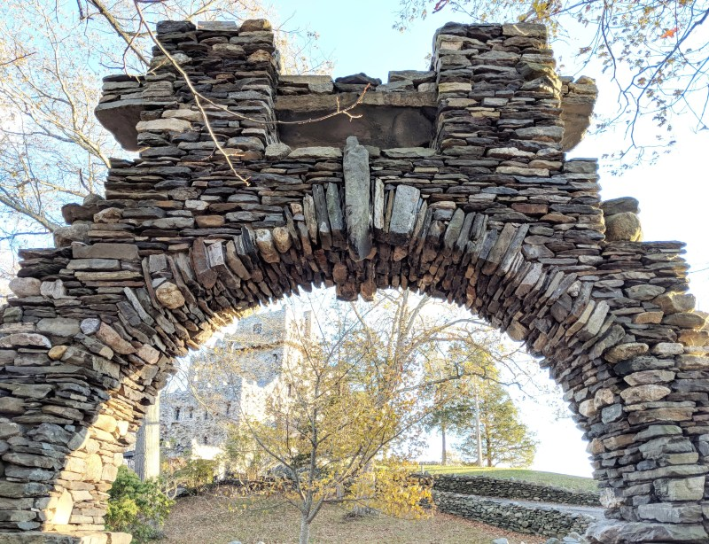 stone arc at the Gillette Castle State Park