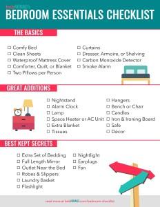 bedroom basics. Contemporary Basics The Airbnb Hostu0027s Essential Bedroom Checklist To Basics