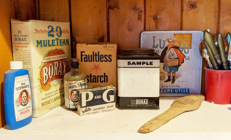 antique laundry products