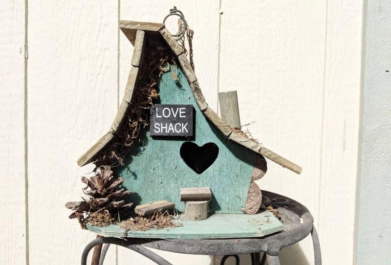 love shack bird feeder