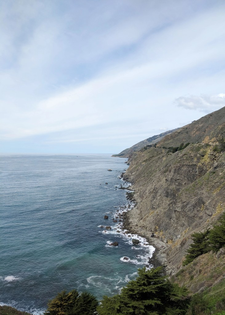 ragged point on California Highway 1
