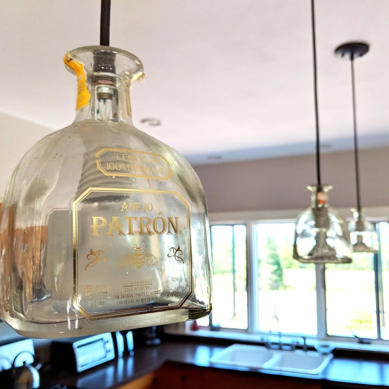 Patron Lamp Shades in Cherry Valley Farm Airbnb