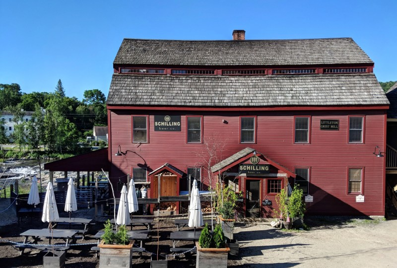 Shilling Brewery in Littleton, New Hampshire