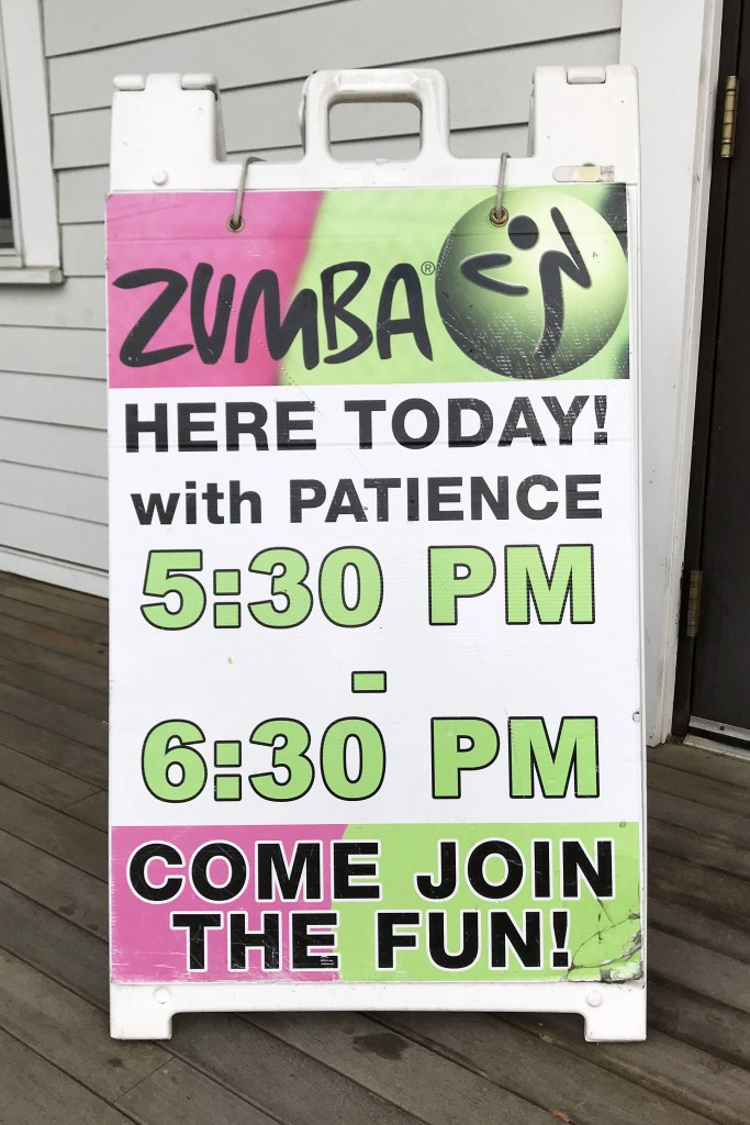Opera House Zumba Class with Patience in Littleton, New Hampshire