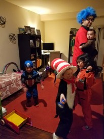 Dance party before trick or treating!