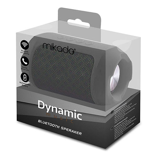 Mikado Bluetooth Zvučnik MD BT16 DYNAMIC Crni 1