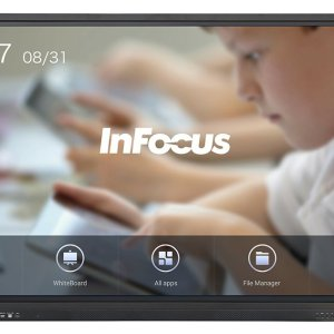 Infocus JTouch Plus 75-inch 4K Display with Android and Anti-Glare