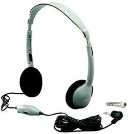 Hamilton Buhl HA2V SchoolMate™ On-Ear Stereo Headphone with in-line Volume