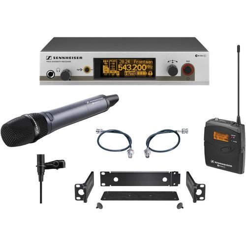 Sennheiser EW312/335 G3 Wireless System with Handheld and Lavalier Microphones