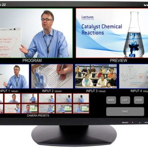 """Vaddio TeleTouch 22"""" Touch Screen LCD Monitor"""
