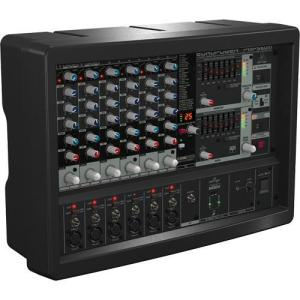 Behringer PMP560M 500W 6-Channel Powered Mixer with KT Multi-FX Processor
