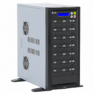 Recordex DVD700H One to Seven CD/DVD Duplicator with 250 Gig Hard Drive