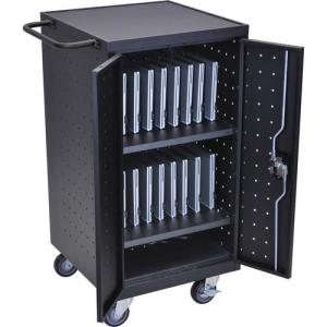 H. Wilson LLTP18-B  18 Capacity Charging Station/ Storage Cart