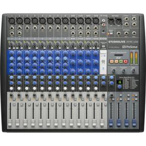 FREE SHIPPING! PreSonus StudioLive AR16 USB 18-Channel Hybrid Performance and Recording Mixer